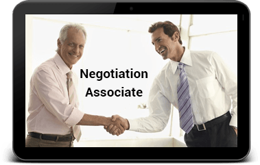 Negotiation certificate programs